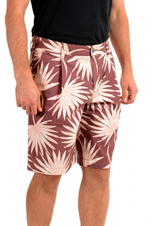 "Hugo Boss Men's ""Samson-Shorts"" Floral Print Casual Shorts: Picture 2"