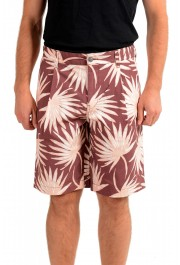 "Hugo Boss Men's ""Samson-Shorts"" Floral Print Casual Shorts"