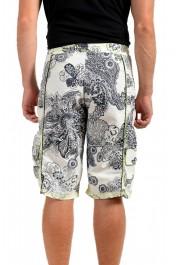 Roberto Cavalli Men's Multi-Color Floral Print Swim Board Shorts: Picture 3
