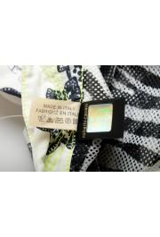 Roberto Cavalli Men's Multi-Color Floral Print Swim Board Shorts: Picture 4