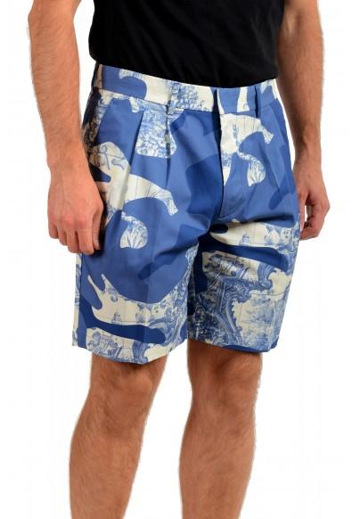 "Hugo Boss Men's ""Kedno-Short-D-Pleats"" Multi-Color Pleated Shorts: Picture 2"