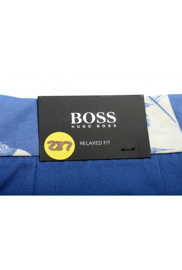 "Hugo Boss Men's ""Kedno-Short-D-Pleats"" Multi-Color Pleated Shorts: Picture 4"