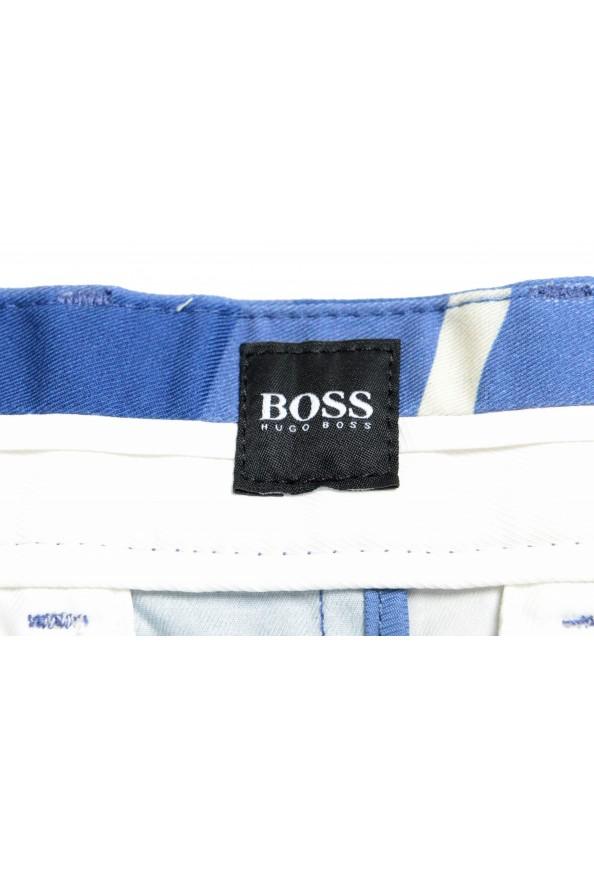 "Hugo Boss Men's ""Kedno-Short-D-Pleats"" Multi-Color Pleated Shorts: Picture 5"