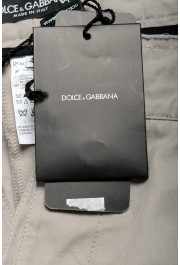 Dolce & Gabbana Men's Gray Linen Casual Shorts: Picture 5