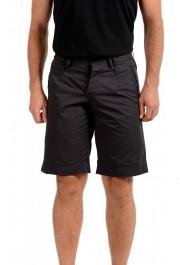 Dolce & Gabbana Men's Dark Gray Linen Casual Shorts