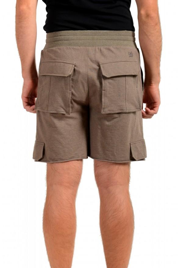 Dolce & Gabbana D&G Men's Stone Beige Sweat Shorts: Picture 3