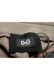 Dolce & Gabbana D&G Men's Stone Beige Sweat Shorts: Picture 4