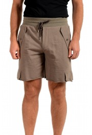 Dolce & Gabbana D&G Men's Stone Beige Sweat Shorts