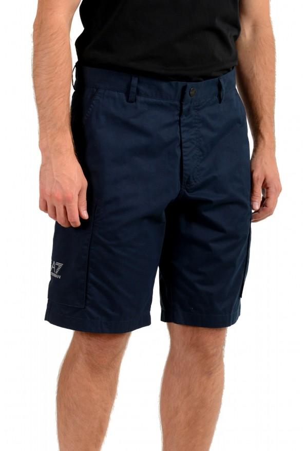 Emporio Armani EA7 Men's Blue Cargo Shorts: Picture 2
