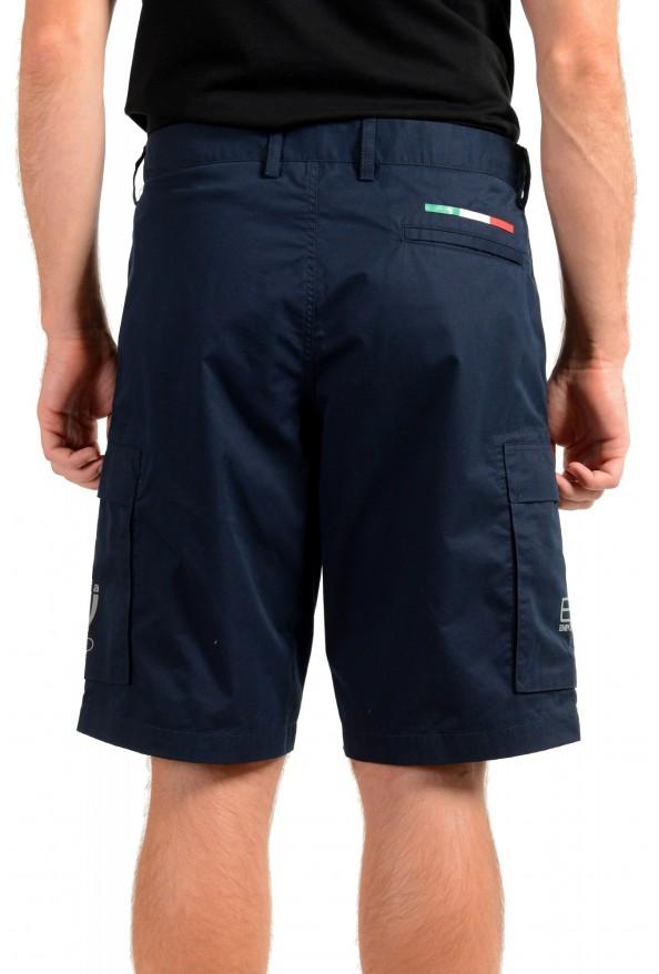 Emporio Armani EA7 Men's Blue Cargo Shorts: Picture 3