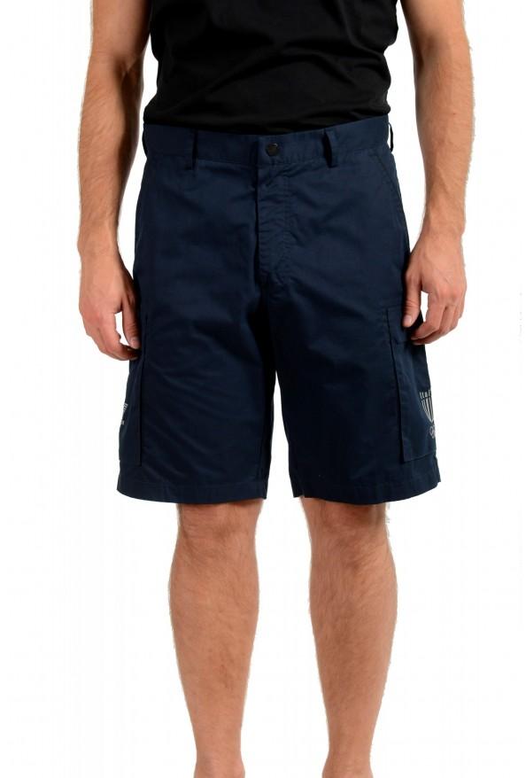 Emporio Armani EA7 Men's Blue Cargo Shorts