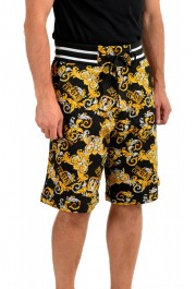 """Versace Jeans Couture Men's """"New Logo Print"""" Sweat Shorts: Picture 2"""