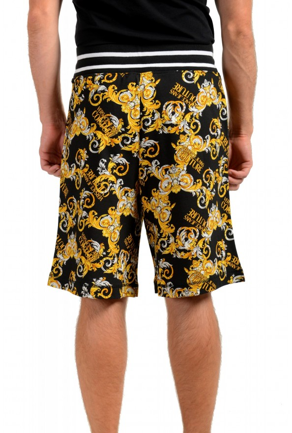 """Versace Jeans Couture Men's """"New Logo Print"""" Sweat Shorts: Picture 3"""