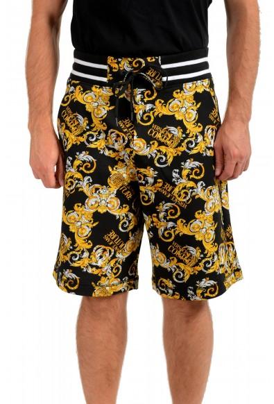 "Versace Jeans Couture Men's ""New Logo Print"" Sweat Shorts"