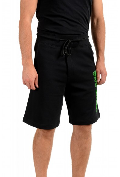 """Versace Jeans Couture Men's """"Logo OUTLINE"""" Sweat Shorts: Picture 2"""