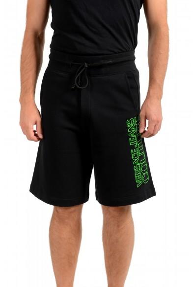 "Versace Jeans Couture Men's ""Logo OUTLINE"" Sweat Shorts"