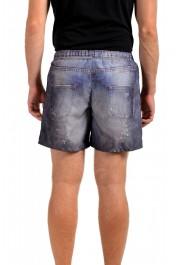 Just Cavalli Men's Denim Print Swim Board Shorts: Picture 4