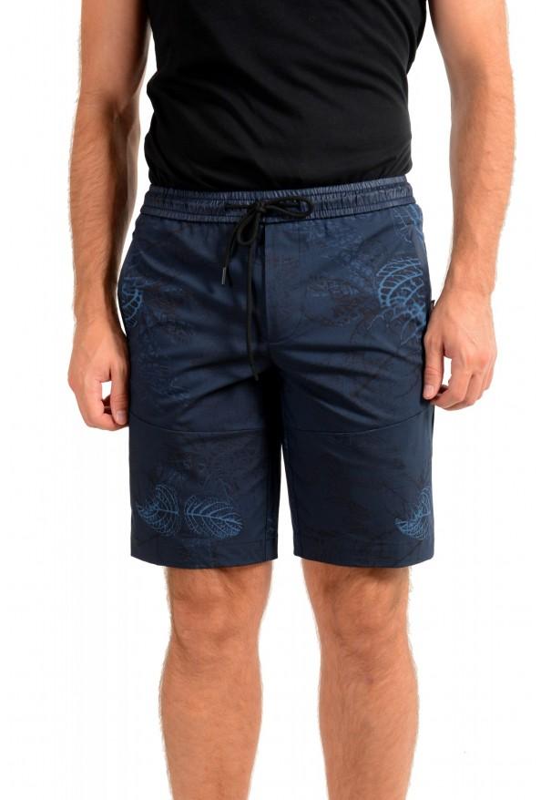 "Hugo Boss Men's ""Liem4-12"" Floral Print Casual Shorts"