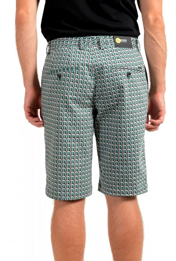 "Hugo Boss Men's ""RIGAN-SHORT"" Geometric Print Casual Shorts: Picture 3"
