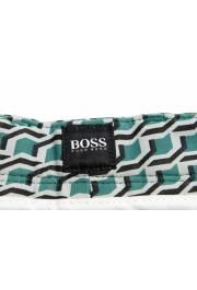 "Hugo Boss Men's ""RIGAN-SHORT"" Geometric Print Casual Shorts: Picture 4"