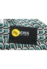 "Hugo Boss Men's ""RIGAN-SHORT"" Geometric Print Casual Shorts: Picture 5"