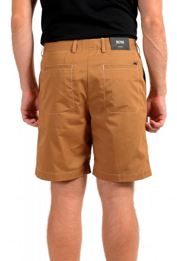 "Hugo Boss Men's ""KEDNO-SHORT-CS"" Brown Casual Shorts: Picture 3"