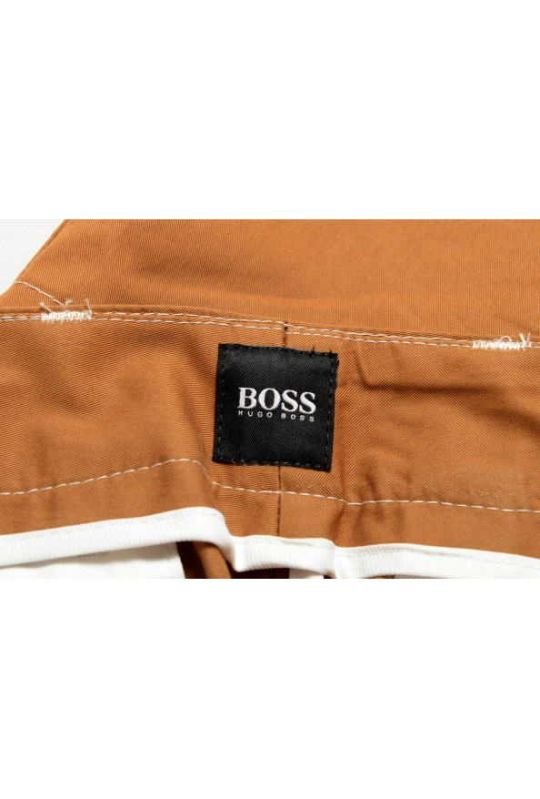 "Hugo Boss Men's ""KEDNO-SHORT-CS"" Brown Casual Shorts: Picture 4"