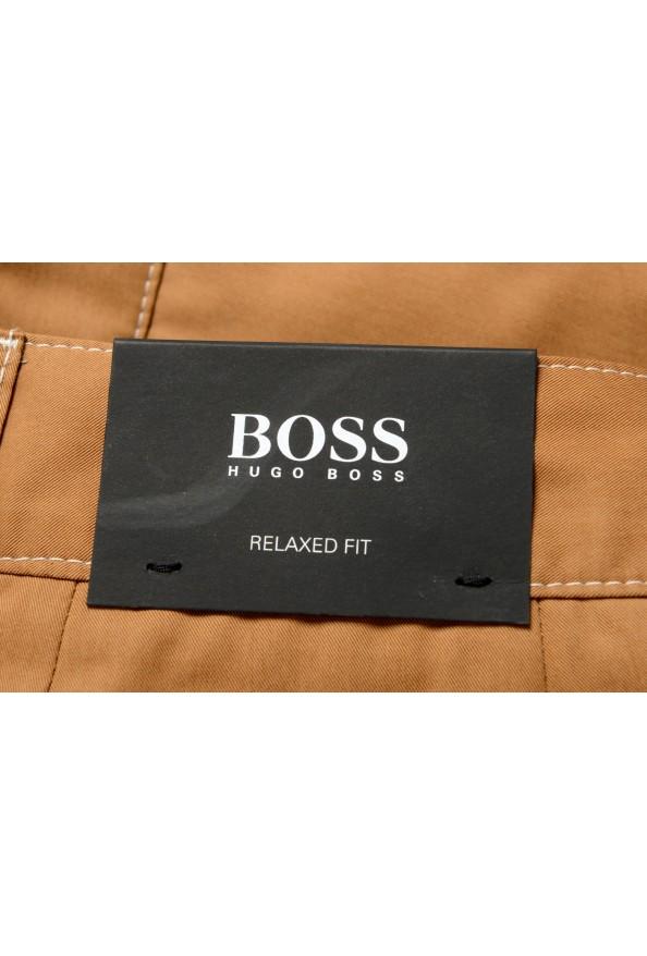 "Hugo Boss Men's ""KEDNO-SHORT-CS"" Brown Casual Shorts: Picture 5"