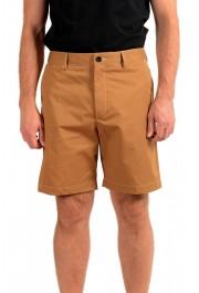 "Hugo Boss Men's ""KEDNO-SHORT-CS"" Brown Casual Shorts"