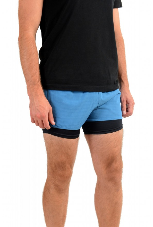 "Hugo Boss Men's ""SPREENT"" Blue Active Shorts : Picture 2"