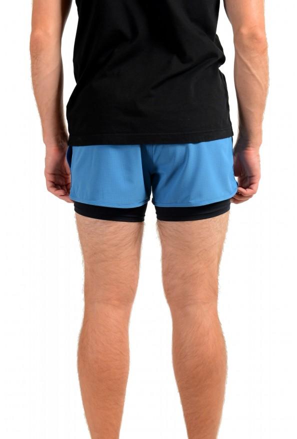 "Hugo Boss Men's ""SPREENT"" Blue Active Shorts : Picture 3"