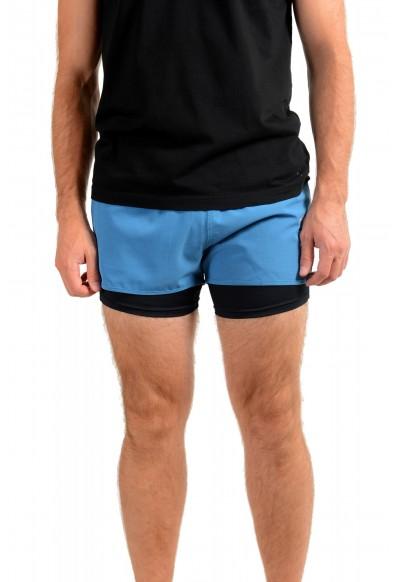 "Hugo Boss Men's ""SPREENT"" Blue Active Shorts"