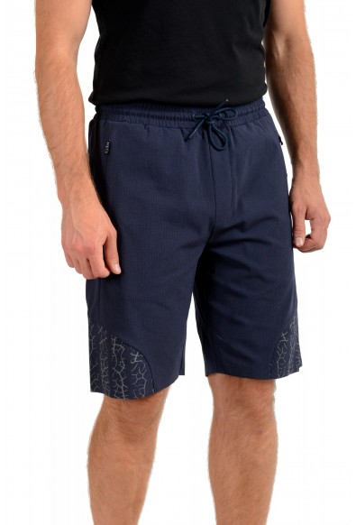 """Hugo Boss Men's """"Hicon Short"""" Navy Blue Casual Shorts: Picture 2"""