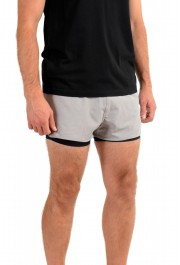 "Hugo Boss Men's ""SPREENT"" Gray Active Shorts: Picture 2"