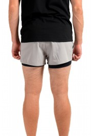 "Hugo Boss Men's ""SPREENT"" Gray Active Shorts: Picture 3"