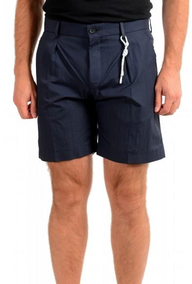 "Hugo Boss Men's ""Pepe1"" Navy Blue Casual Shorts"