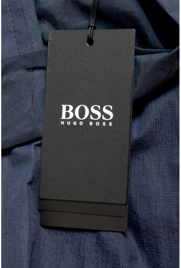 """Hugo Boss Men's """"Pepe1"""" Navy Blue Casual Shorts: Picture 4"""
