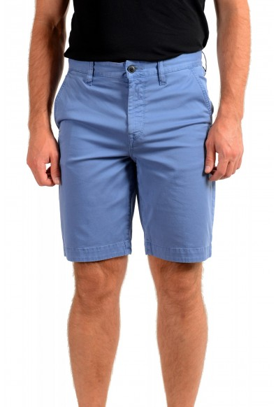 """Hugo Boss Men's """"Schino-Taber-Shorts"""" Tapered Fit Blue Casual Shorts"""