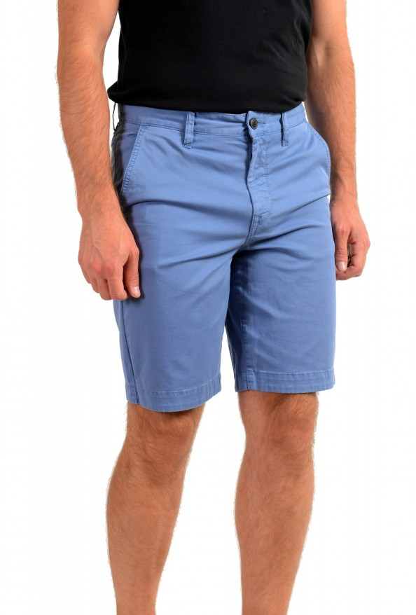 """Hugo Boss Men's """"Schino-Taber-Shorts"""" Tapered Fit Blue Casual Shorts: Picture 2"""
