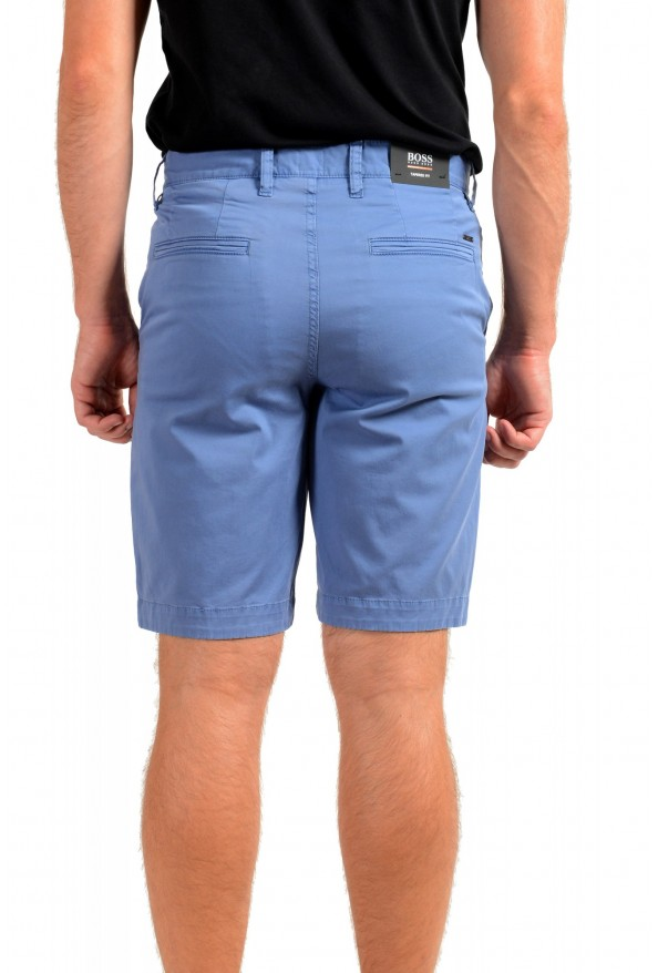 """Hugo Boss Men's """"Schino-Taber-Shorts"""" Tapered Fit Blue Casual Shorts: Picture 3"""