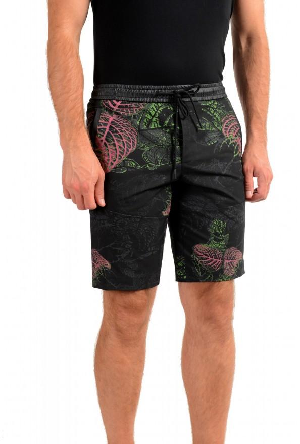 """Hugo Boss Men's """"Liem4-12"""" Slim Fit Floral Print Active Shorts: Picture 2"""