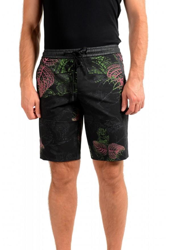"Hugo Boss Men's ""Liem4-12"" Slim Fit Floral Print Active Shorts"