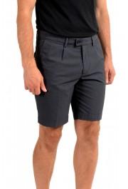 "Hugo Boss Men's ""Slice-Shortd-Pleats"" Blue Casual Shorts: Picture 2"