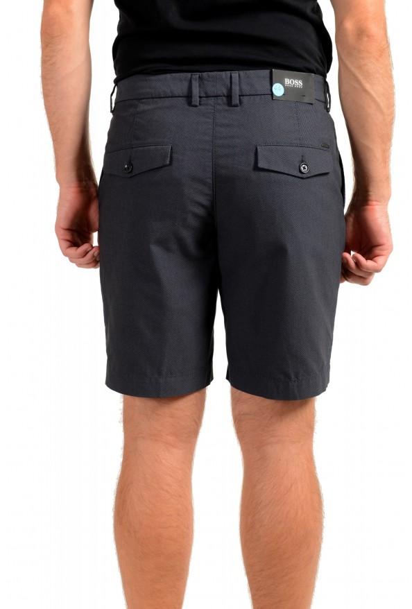 "Hugo Boss Men's ""Slice-Shortd-Pleats"" Blue Casual Shorts: Picture 3"