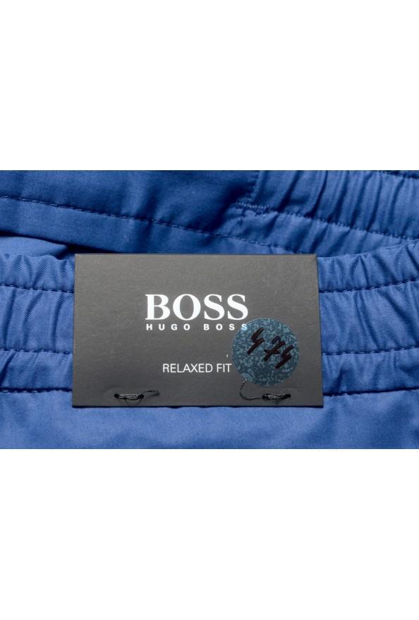 "Hugo Boss Men's ""Kirio-Short-Pleats-D"" Blue Casual Shorts: Picture 4"