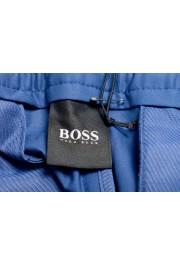 "Hugo Boss Men's ""Kirio-Short-Pleats-D"" Blue Casual Shorts: Picture 5"