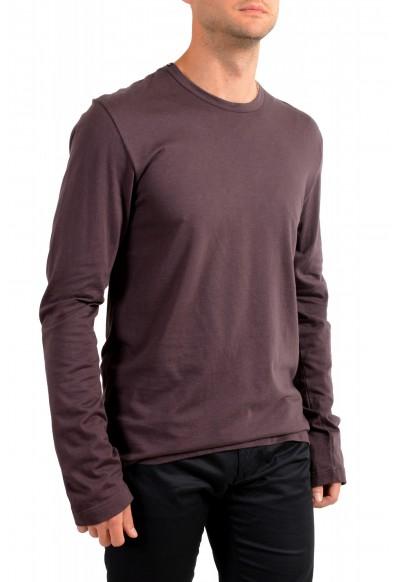 Dolce & Gabbana Men's Purple Long Sleeve Crewneck T-Shirt: Picture 2