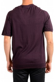 Dolce & Gabbana D&G Men's Purple 100% Wool Cardigan Sweater: Picture 3