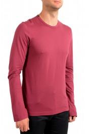 Dolce & Gabbana Men's Purple Long Sleeve Crewneck T-Shirt : Picture 2