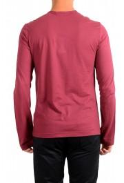 Dolce & Gabbana Men's Purple Long Sleeve Crewneck T-Shirt : Picture 3